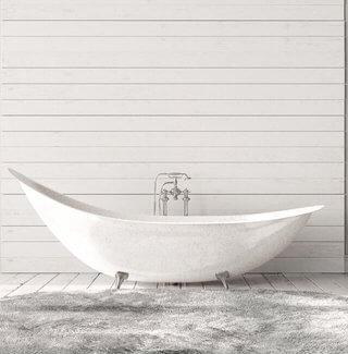 Maling af badekar på 4 timer